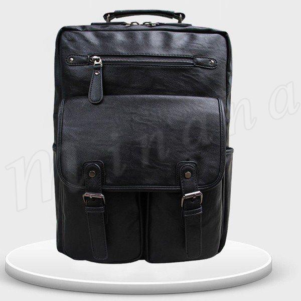 db24320afb88 リュック メンズ おしゃれ PU レザー 防水 ナイロン ビジネス ビジネスリュック 旅行バッグ 大人 人気 通勤 通学 バッグ 男の子 男性